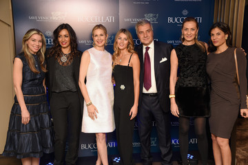 Kelly Rutherford Timeless Blue, Buccellati New York Flagship Opening