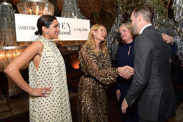 Kelly Thompson Stuart Leitch Vanity Fair And Lancôme Toast Women In Hollywood In Los Angeles