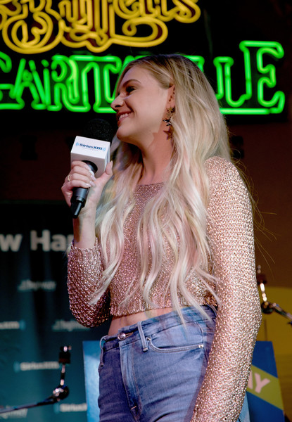 SiriusXM's The Music Row Happy Hour Live On The Highway With Special Guest Kelsea Ballerini At Margaritaville In Nashville