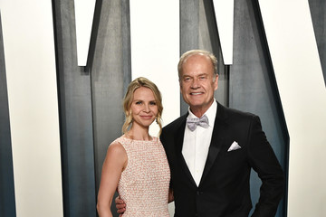 Kelsey Grammer Kayte Walsh 2020 Vanity Fair Oscar Party Hosted By Radhika Jones - Arrivals