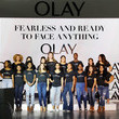 Kelsey Murrell Olay's 'Face Anything' New York Fashion Week Make-Up Free Runway Show
