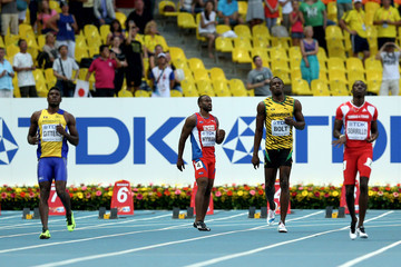 Kemar Hyman 14th IAAF World Athletics Championships Moscow 2013 - Day One