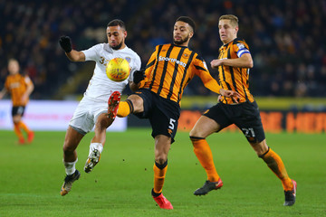 Kemar Roofe Hull City v Leeds United - Sky Bet Championship