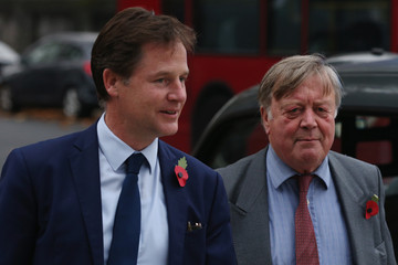 Ken Clarke Liberal Democrats Hold a London Memorial Service for Former Leader Charles Kennedy