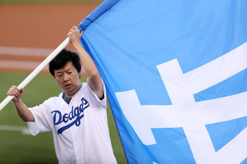 Ken Jeong World Series - Houston Astros v Los Angeles Dodgers - Game One