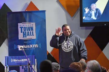 Kenan Thompson Actor and Comedian Kevin Hart Is Interviewed by Kenan Thompson for SiriusXM's 'Town Hall' Series