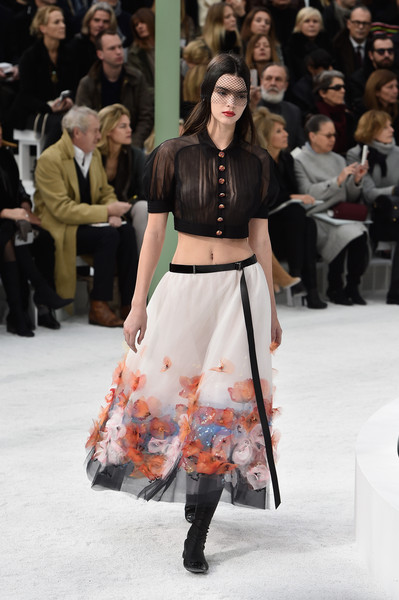 Chanel Runway Show [s/,fashion show,fashion model,runway,fashion,clothing,event,public event,haute couture,fashion design,spring,kendall jenner,part,runway,paris,france,chanel,paris fashion week,show,haute couture spring]
