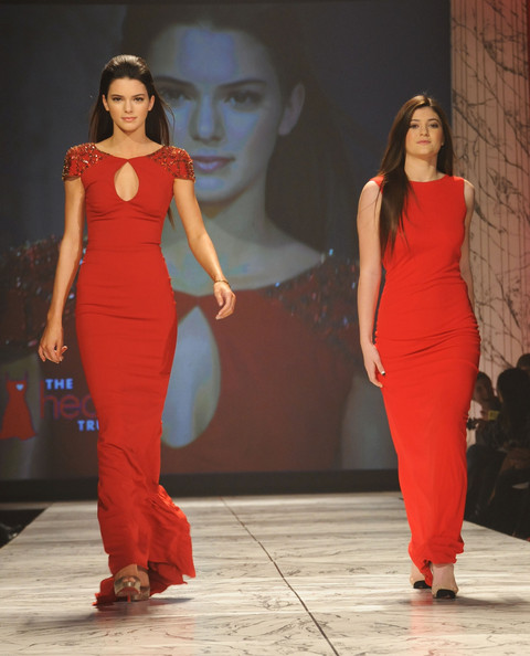 Kendall Jenner Pictures The Heart Truth 2013 Fashion Show Zimbio