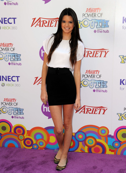 Kendall Jenner TV personality Kendall Jenner arrives at Variety's 4th Annual Power of Youth event at Paramount Studios on October 24, 2010 in Hollywood, California.