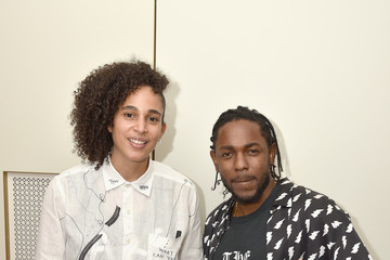 Kendrick Lamar AMEX MUSIC MEETS ART: Kendrick Lamar Featuring Shantell Martin At The Faena Art Dome