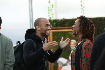 Kendrick Sampson Intimate Coldplay Performance At Justice Reform Activation