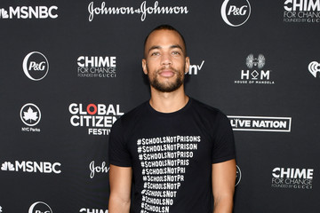 Kendrick Sampson 2018 Global Citizen Festival: Be The Generation - VIP Lounge