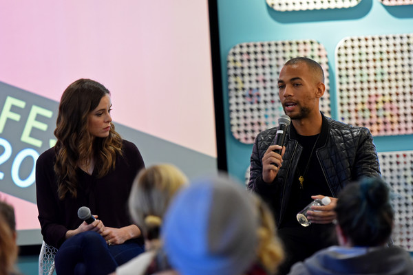 SCAD aTVfest 2018 Screenings and Panels - Day 3 [community,youth,event,job,news conference,speech,spokesperson,convention,conversation,games,danielle panabaker,kendrick sampson,panels,georgia,atlanta,panel,screenings,scad atvfest 2018]