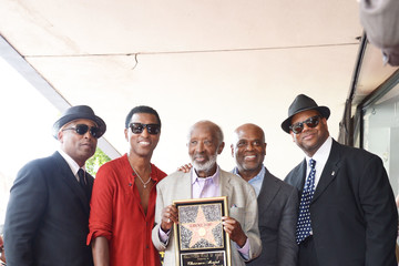 """Kenneth """"Babyface"""" Edmonds Clarence Avant Is Honored With a Star on the Hollywood Walk of Fame"""