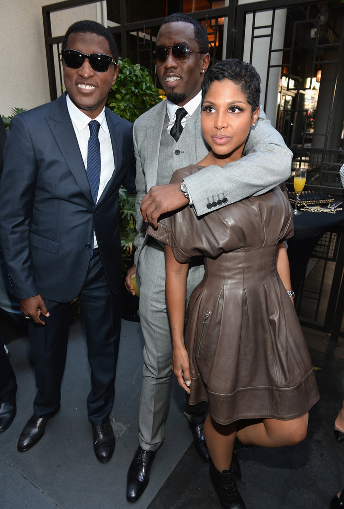 Toni Braxton Sean Combs Kenneth Edmonds Toni Braxton