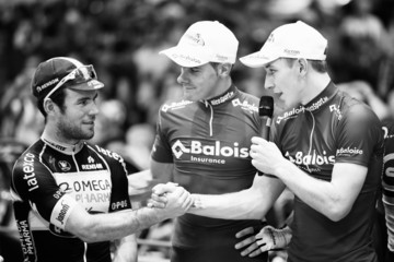Kenny De Ketele Mark Cavendish at the Ghent Six