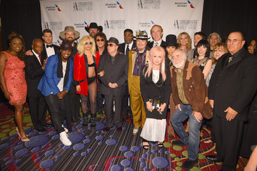 Kenny Gamble Celebrities Smile at the Songwriters Hall of Fame 46th Annual Induction and Awards