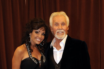 Wanda Rogers Kenny Rogers: The 50th Anniversary Show - Backstage And Audience