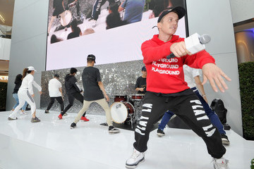 Kenny Wormald Beverly Center's Grand Reveal