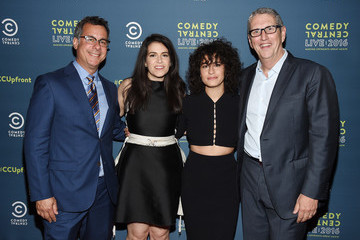Kent Alterman Abbi Jacobson Comedy Central Live 2016 Upfront - After Party
