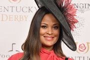 Professional boxer Laila Ali attends Kentucky Derby 144 on May 5, 2018 in Louisville, Kentucky.