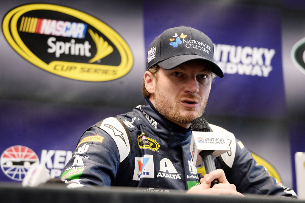 dale earnhardt jr photos photos kentucky speedway day. Black Bedroom Furniture Sets. Home Design Ideas