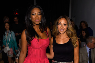 Kenya Moore Betsey Johnson - Front Row - Mercedes-Benz Fashion Week Spring 2015