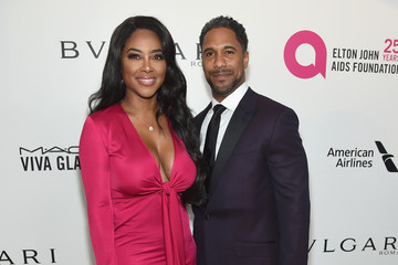 Kenya Moore 26th Annual Elton John AIDS Foundation Academy Awards Viewing Party sponsored by Bulgari, celebrating EJAF and the 90th Academy Awards - Red Carpet