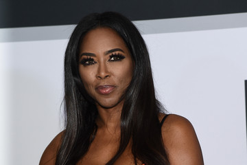 Kenya Moore BET AWARDS '14 - Press Room