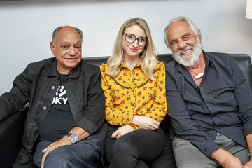 Kerri Doherty Lounging with Legends: Cheech and Chong