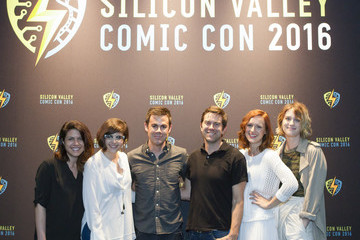 Kerry Bishe AMC's 'Halt and Catch Fire' Panel at Silicon Valley Comic Con