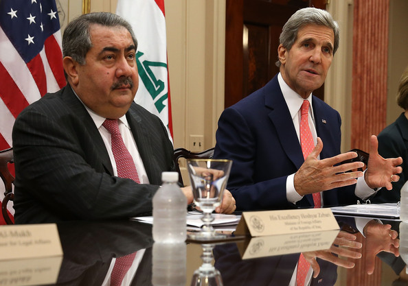 John Kerry Meets with Iraqi Foreign Minister