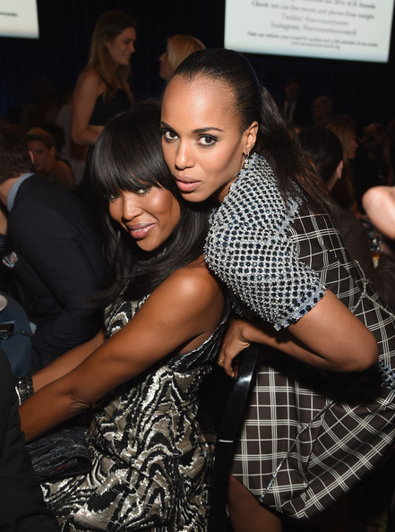 Kerry Washington Model Naomi Campbell and actress Kerry Washington attend the 18th Annual Accessories Council ACE Awards At Cipriani 42nd Street at Cipriani 42nd Street on November 3, 2014 in New York City.