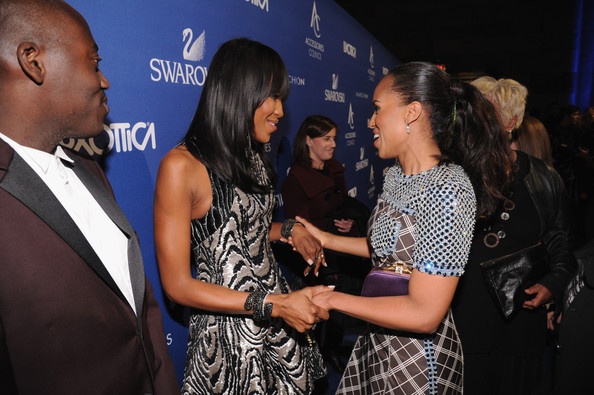 Kerry Washington Edward Enninful, Kerry Washington and Naomi Campbell attend the 18th Annual Accessories Council ACE Awards At Cipriani 42nd Street at Cipriani 42nd Street on November 3, 2014 in New York City.