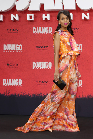 Kerry Washington - 'Django Unchained' Berlin Premiere