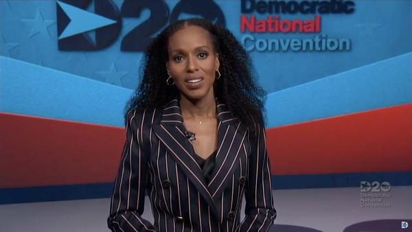 Entertainment  Pictures of the Month - August 2020 [entertainment pictures of the month,spokesperson,long hair,television presenter,black hair,talent show,newscaster,kerry washington,actress,people,dncc\u00e2,screenshot,hair,beauty,convention,democratic national convention,kerry washington,2020 democratic national convention,2020,beauty,today,fashion,night three]