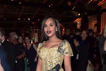 Kerry Washington The Weinstein Company and Netflix Golden Globes Party Presented With Landmark Vineyards