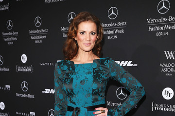 Kerstin Linnartz Guido Maria Kretschmer Arrivals - Mercedes-Benz Fashion Week Autumn/Winter 2013/14