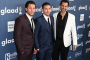 (L-R) Actors Brent Antonello and Adam Senn, and executive producer James LaRosa attend the 27th Annual GLAAD Media Awards hosted by Ketel One Vodka at the Beverly Hilton on April 2, 2016 in Beverly Hills, California.