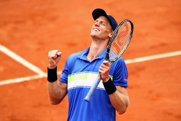 Kevin Anderson 2017 French Open - Day Seven