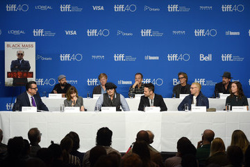 Kevin Bacon 2015 Toronto International Film Festival - 'Black Mass' Press Conference