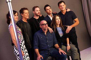 Kevin Bacon Shawn Ashmore The Samsung Galaxy VIP Lounge At Comic-Con International 2014