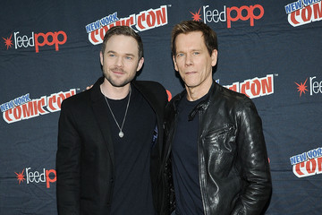 Kevin Bacon Shawn Ashmore New York Comic Con: Day 4