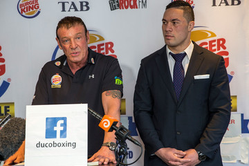 Kevin Barry Joseph Parker and Kali Meehan Press Conference