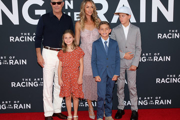 Kevin Costner Premiere Of 20th Century Fox's 'The Art Of Racing In The Rain' - Arrivals