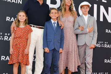 Kevin Costner Premiere Of 20th Century Fox's 'The Art Of Racing In The Rain' - Red Carpet