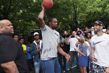Kevin Durant KD Build It and They Will Ball Court Ceremony