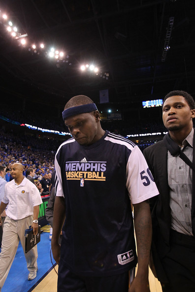 Rudy Gay and Kevin Durant - Memphis Grizzlies v Oklahoma City Thunder - Game ...