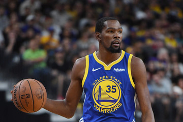 Kevin Durant Golden State Warriors vs. Los Angeles Lakers