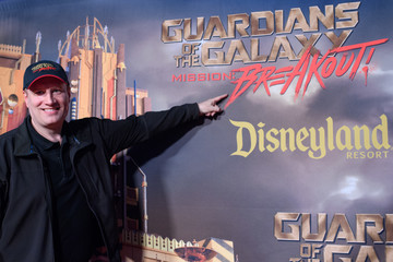 Kevin Feige Guardians of the Galaxy - Mission: BREAKOUT! Grand Opening